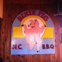 Photo taken at Dixie Pig Bar-B-Q by Brian P. on 3/28/2013
