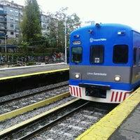Photo taken at Estación Caballito [Línea Sarmiento] by Martin Nahuel R. on 5/19/2013