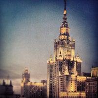 Photo taken at МГУ им. М. В. Ломоносова by Влад М. on 2/25/2013