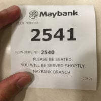 Photo taken at Maybank by Im Mat on 3/28/2016