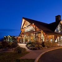 Photo taken at Crowne Plaza Resort Lake Placid-Golf Club by Jesse Q. on 12/23/2013