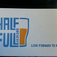 Photo taken at Half Full Brewery by Jermaine T. on 11/9/2012
