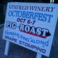Photo taken at Lynfred Winery by Nina G. on 10/6/2012