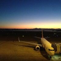 Photo taken at Aeroporto Internacional de Curitiba / Afonso Pena (CWB) by Paula L. on 7/22/2013