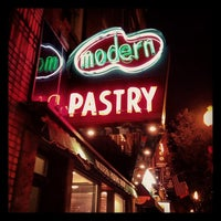 Photo taken at Modern Pastry Shop by Sterling P. on 11/29/2012