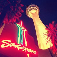 Photo taken at Stratosphere Casino, Hotel & Tower by Gleb N. on 3/31/2013