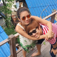 Photo taken at Sangthian Beach Resort by Aap P. on 6/25/2016