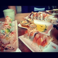 Photo taken at Sushi Lover by Annalisa R. on 9/23/2012