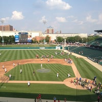 Photo taken at Victory Field by Aimee B. on 6/6/2013