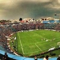 Photo taken at Estadio Azul by Drako C. on 7/20/2013
