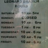 Photo taken at Brooklyn Public Library - Leonard Branch by Amanda M. on 6/14/2013