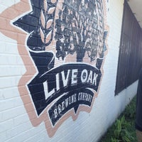 Photo taken at Live Oak Brewery by Cody R. on 5/11/2013