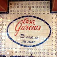 Photo taken at Casa Garcia's Mexican Restaurant by Rocio D. on 11/13/2012