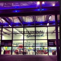 Photo taken at London Gatwick Airport (LGW) by Diana P. on 3/27/2013
