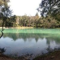 Photo taken at Parque Ecoturistico San Miguel Regla by Ana Z. on 11/11/2012