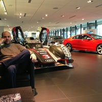 Photo taken at Audi Forum by FOURTITUDE.COM, The Audi Enthusiast Website on 12/21/2012