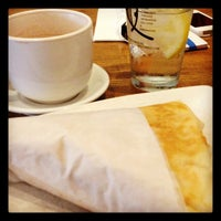 Photo taken at Rachel's Cafe & Creperie by Josh L. on 10/26/2012