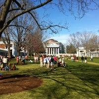 Photo taken at University of Virginia by Warren M. on 4/6/2013