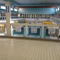 Photo taken at Piscine Garibaldi by Ema e. on 10/22/2012