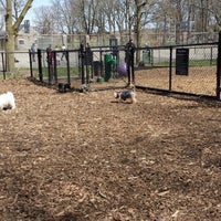 Photo taken at Cunningham Park Dog Run by kc r. on 4/17/2014