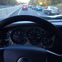 Photo taken at I-95 -- East Lyme by Joe R. on 10/18/2013