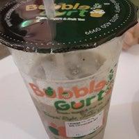 Photo taken at BubbleGurt Cafe by Jhau L. on 4/5/2013