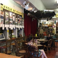 Photo taken at Every Thing Goes Cafe and Bookstore by Jenson L. on 8/2/2016