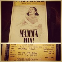 Photo taken at Broadhurst Theatre by VyVy T. on 10/8/2012
