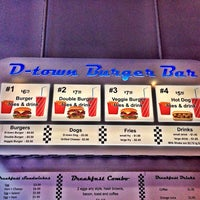 Photo taken at D-Town Burger Bar by San K. on 3/1/2014