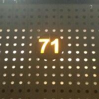 Photo taken at Sala/Gate 71 by Gerardo V. on 3/21/2013