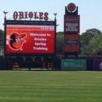 Photo taken at Ed Smith Stadium by Chris on 3/30/2013