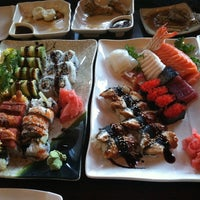 Photo taken at River Japanese Cuisine by Kelly Y. on 8/24/2013