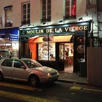 Photo taken at Le Moulin de La Vierge by Hagiel J. on 9/30/2012