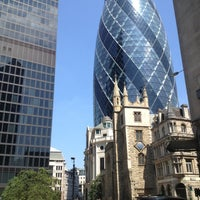 Photo taken at Lloyd's of London by Ivo P. on 7/6/2013