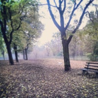 Photo taken at Columbia Dog Park by Aaron N. on 10/30/2013