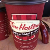 Photo taken at Tim Hortons by Antoinette M. on 3/16/2013