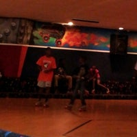 Photo taken at Starlite Skating Center by Valicia T. on 9/29/2012