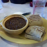 Photo taken at McAlisters Deli by Ray H. on 12/23/2012