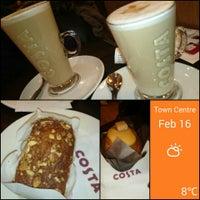 Photo taken at Costa Coffee by La J. on 2/16/2014