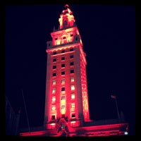 Photo taken at Miami Freedom Tower by Frank M. on 10/31/2012