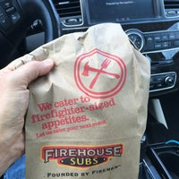 Photo taken at Firehouse Subs by Tom B. on 8/26/2016