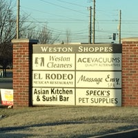 Photo taken at Weston Shoppes by Tom B. on 12/28/2016