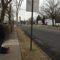 Photo taken at DeCamp - 33 Bus Stop by Jennifer W. on 3/11/2013