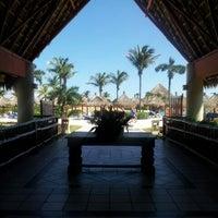 Photo taken at Gran Bahia Principe Tulum by Stalz on 10/20/2013