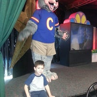 Photo taken at Chuck E. Cheese's by Jenifer R. on 3/8/2014