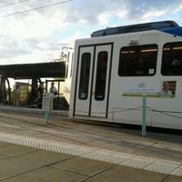 Photo taken at TriMet Beaverton Central MAX Station by Kitty N. on 9/9/2012