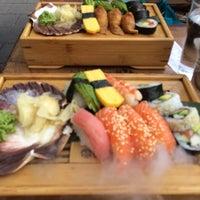 Photo taken at Dragon Sushi by Magnus H. on 8/17/2014