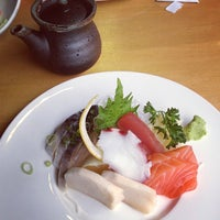 Photo taken at Symphony Sushi by Gloria C. on 2/15/2013