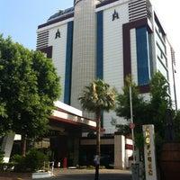 Photo taken at Antalya Hotel by Алена И. on 7/11/2013