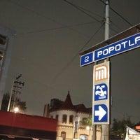 Photo taken at Metro Popotla (Línea 2) by Omar David S. on 7/22/2016
